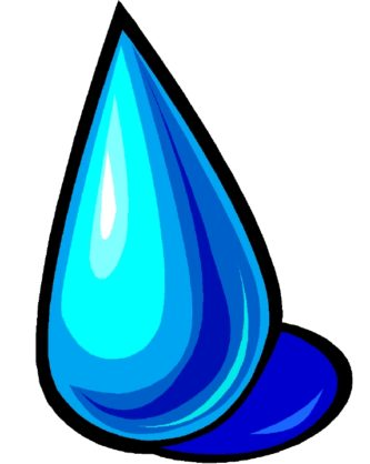 Waterdrop clipart animated #13