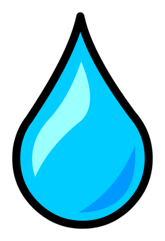 Waterdrop clipart animated #3