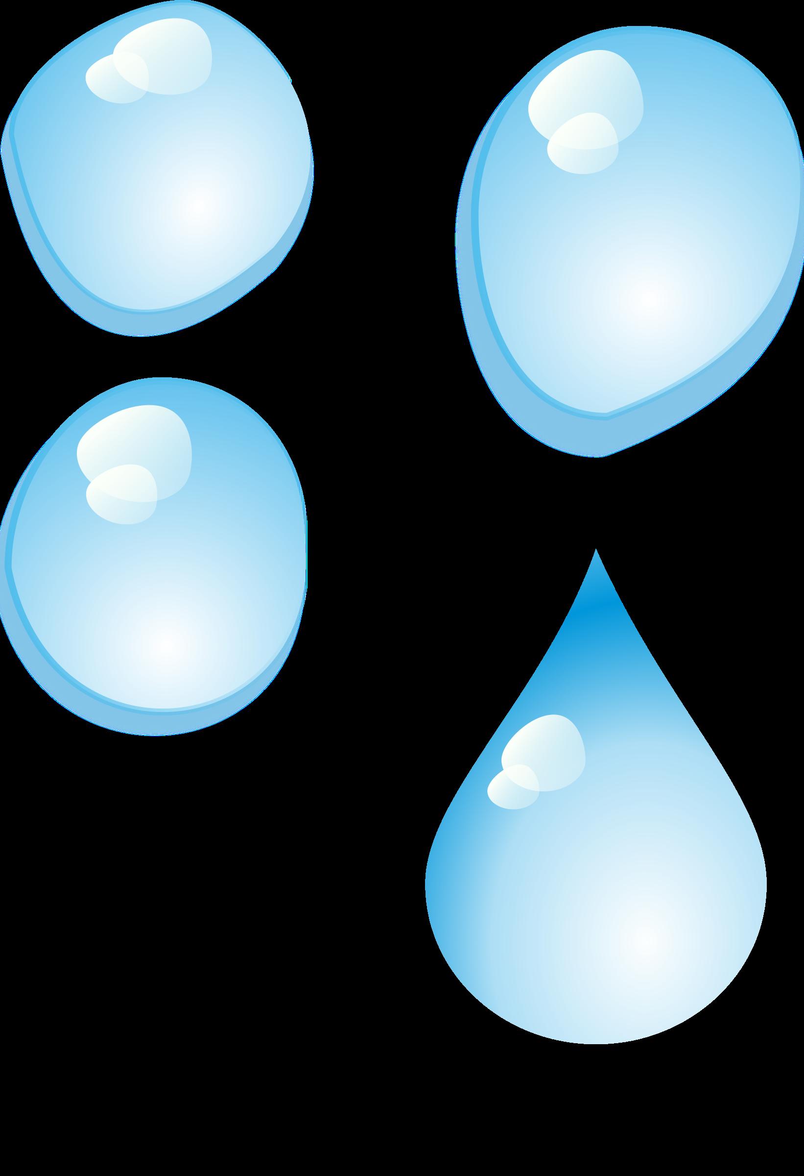 Drops Set of (PNG) BIG