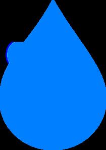 Blue Water clipart water droplet Online  Drop Clip vector