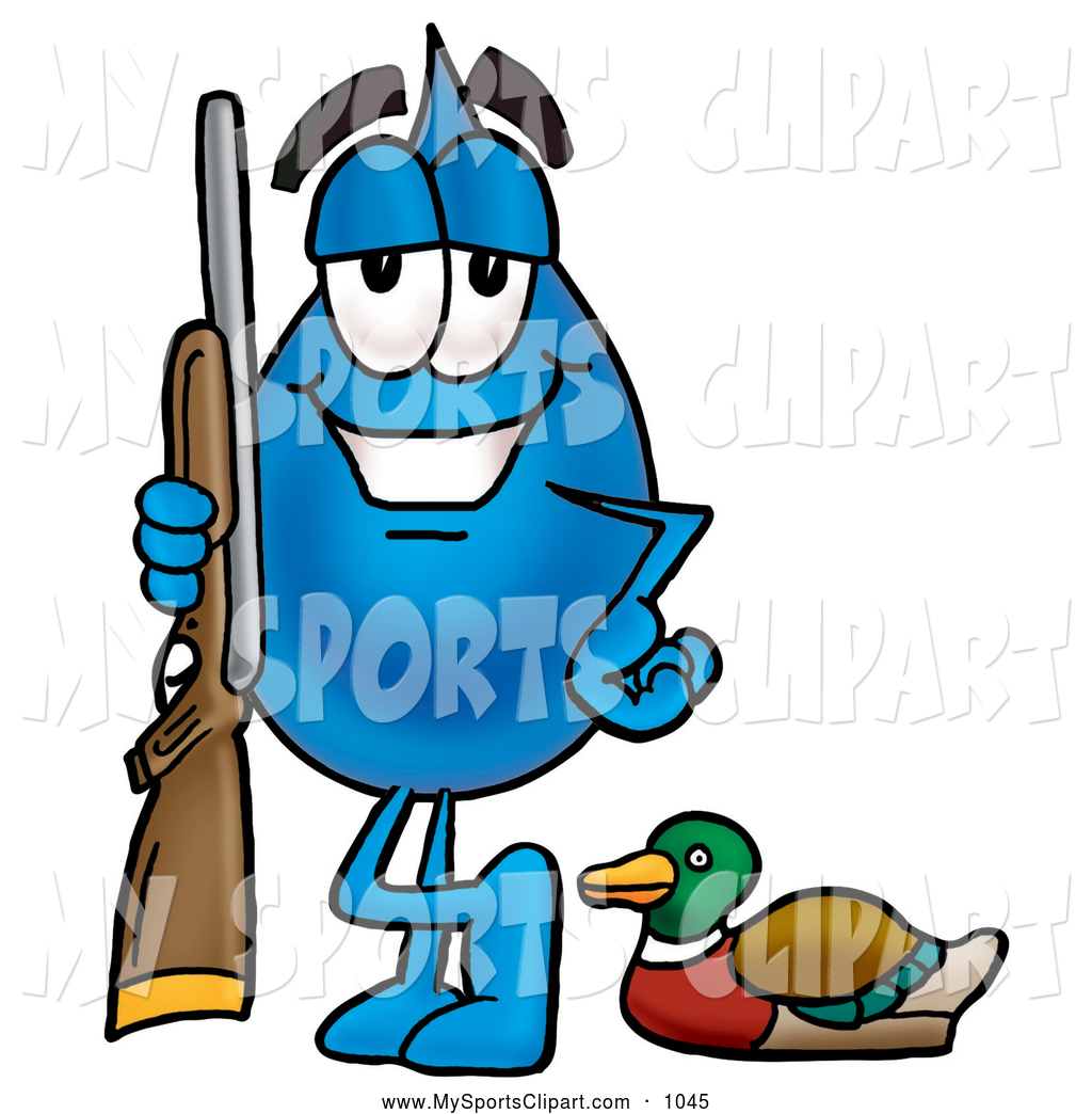Waterdrop clipart character #3