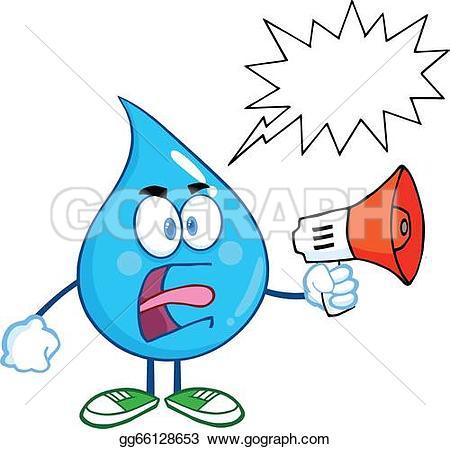 Waterdrop clipart clean drinking water Angry Drop Art Water Speech