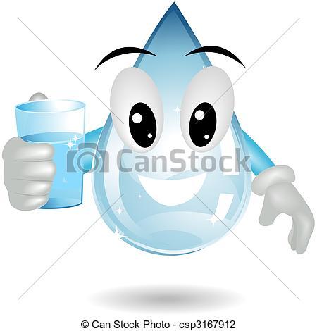 Waterdrop clipart clean drinking water Drinking  csp3167912 drop Water