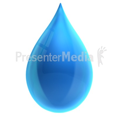 Water Droplets clipart fresh water Single Water ID# 16365 Great