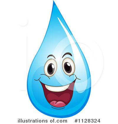 Waterdrop clipart emoticon #3