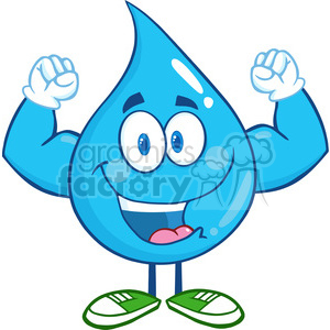 Waterdrop clipart funny #3