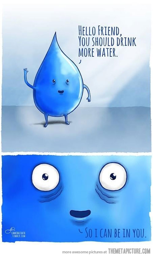Waterdrop clipart funny #4
