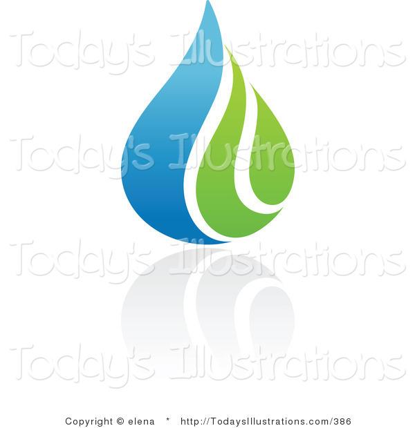 Waterdrop clipart leaf #9