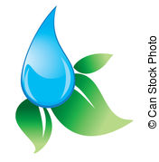 Waterdrop clipart leaf #6