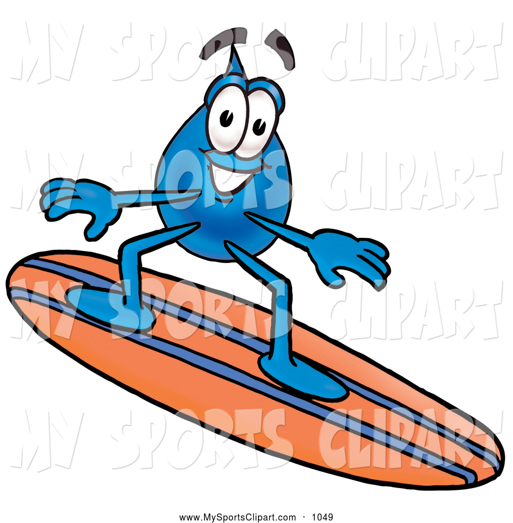 Waterdrop clipart orange #7