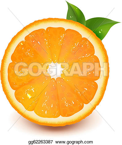 Waterdrop clipart orange #6