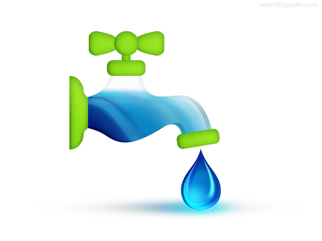 Water icon Full JPG PSDGraphics