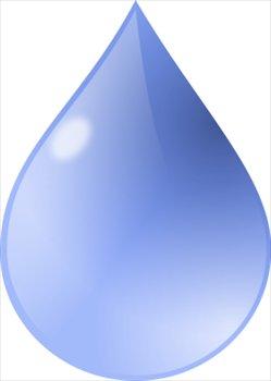 Water Droplets clipart public domain #1