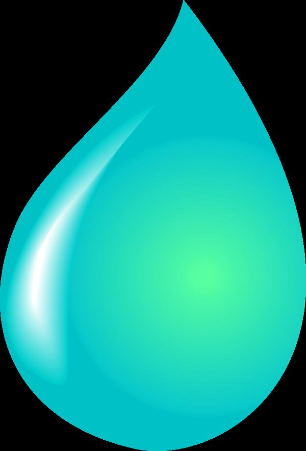 Waterdrop clipart purple #12