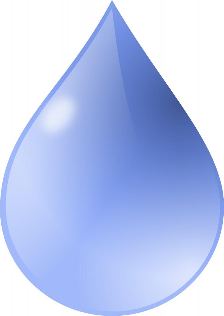 Waterdrop clipart purple #11