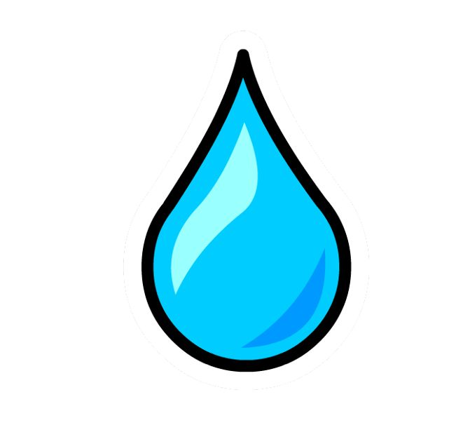 Water Droplets clipart single Shower best babyshower 34 images