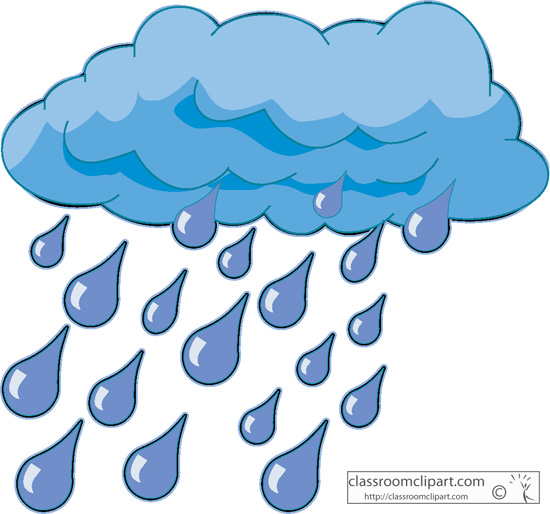 Clouds clipart cloudy weather Rain animated ClipartBarn clipart Raindrop