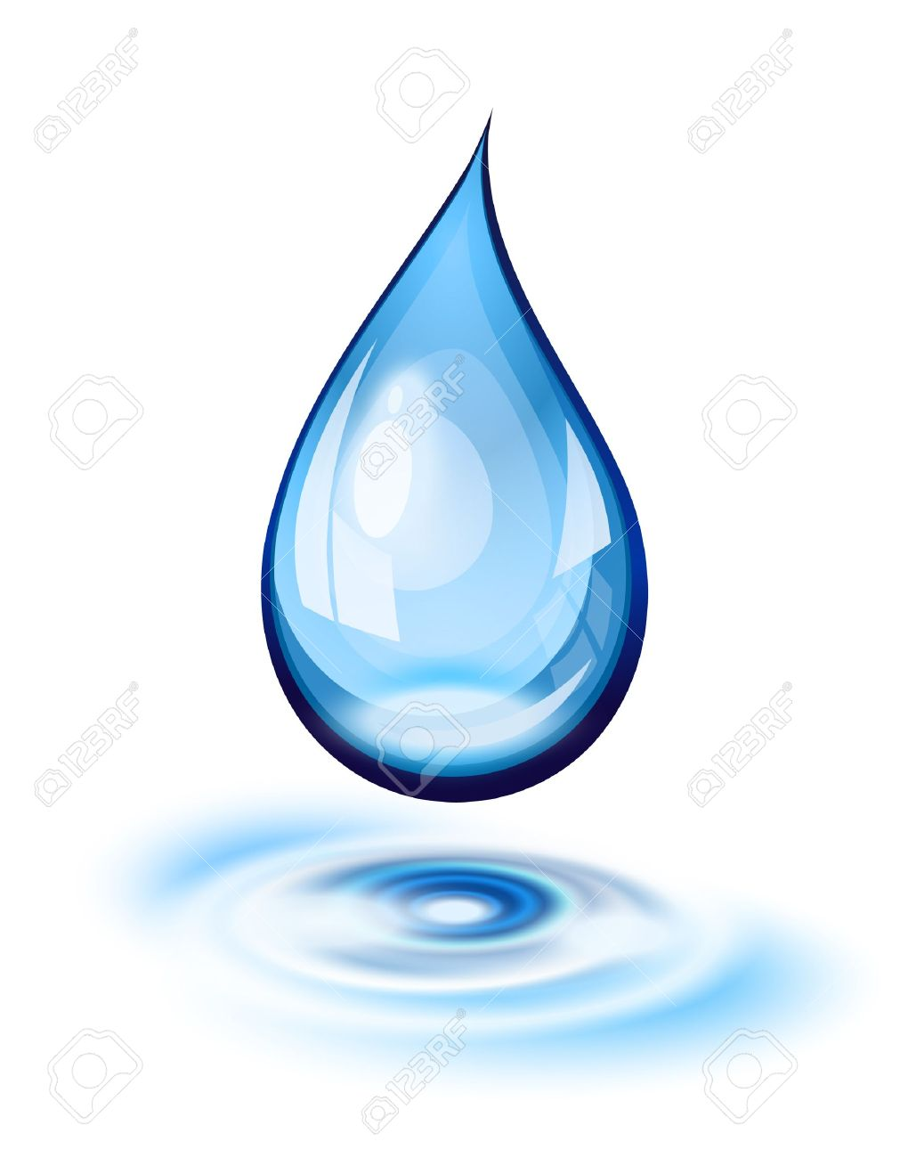 Water Droplets clipart icon (Desktop Water  wallpapers Water