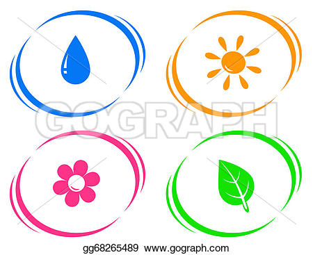 Waterdrop clipart sun water Flower on  with drop