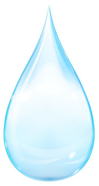 Water Droplets clipart transparent On Blue Drop best Pinterest