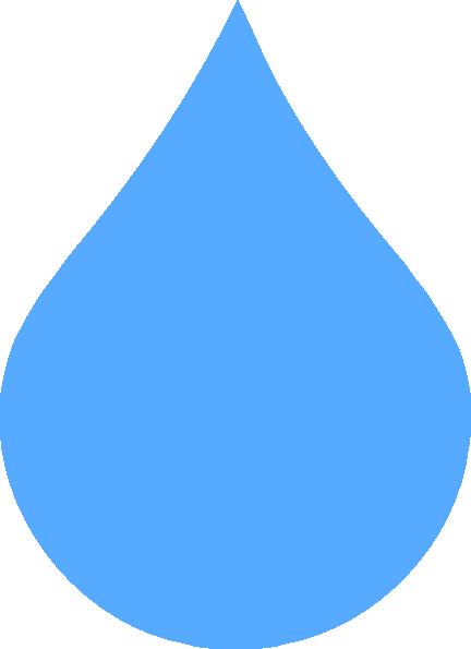 Waterdrop clipart transparent background At drop clipart Clker Rain