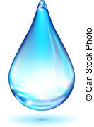 Waterdrop clipart transparent background White Clipart Vector background drop