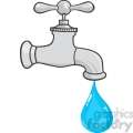 Fawcet clipart water drop Clip water Free drop with