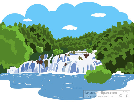 Illustration clipart waterfall Clipart Waterfall Clipart Cliparts The