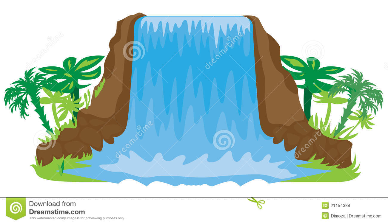 Waterfall clipart Free Images 20clipart Clipart Waterfall