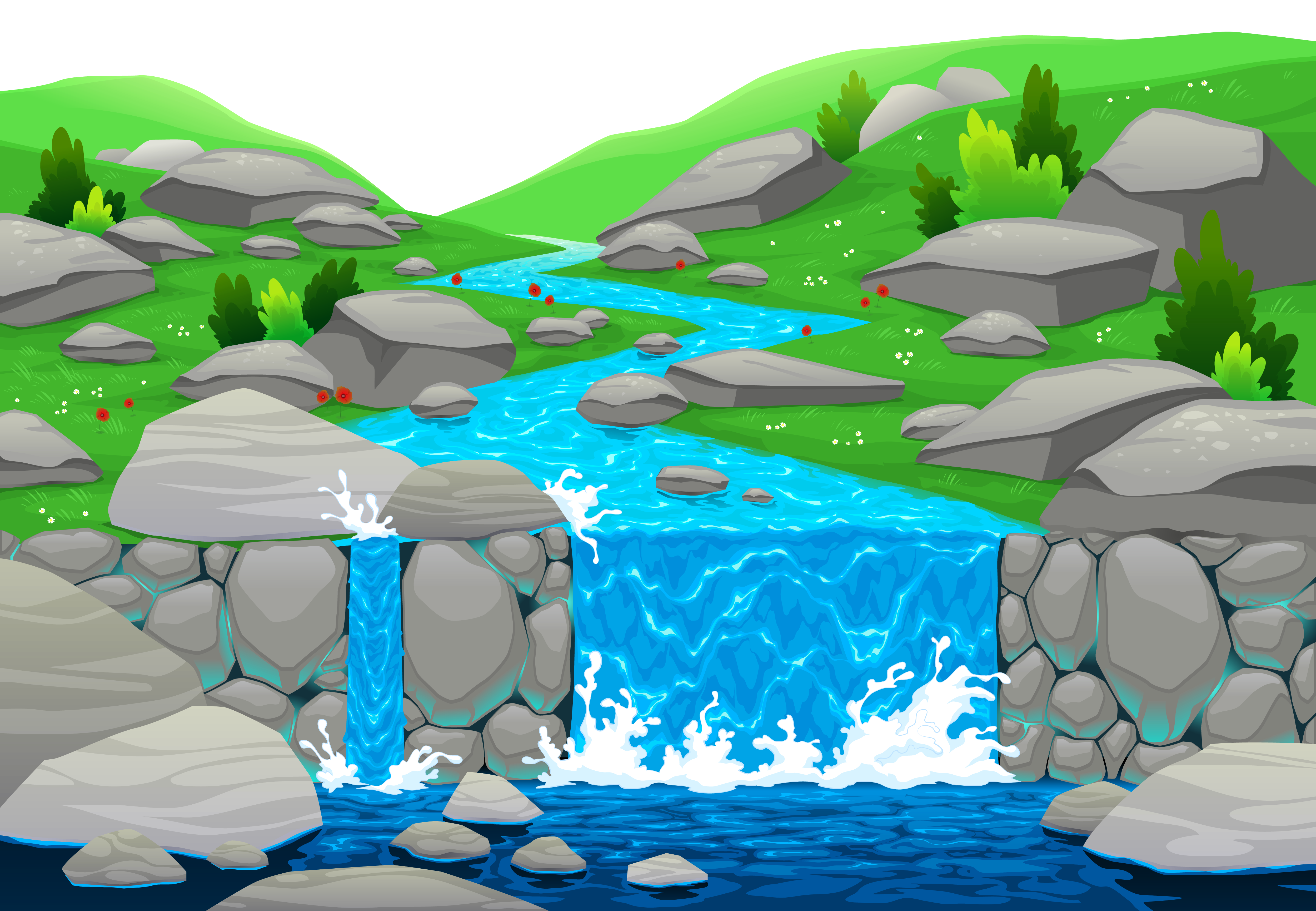 Waterfall clipart Waterfall Download #20 clipart Download