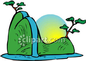 Waterfall clipart Free Images Waterfall Clipart Info