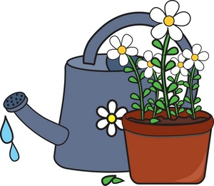 Watering Can clipart plant needs Black Free Clipart Clipart Can