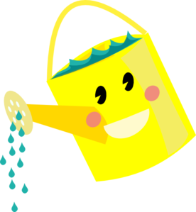 Watering Can clipart metal Watering Art Clker at Can