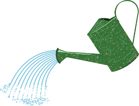 Watering Can clipart Clipart can Watering seeds watering