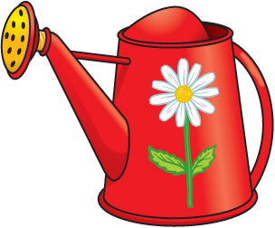 Watering Can clipart water can Can  art Holidays can
