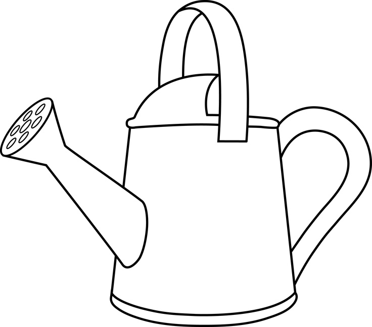 Watering Can clipart cute Clipart Free Watering ClipartIO Can