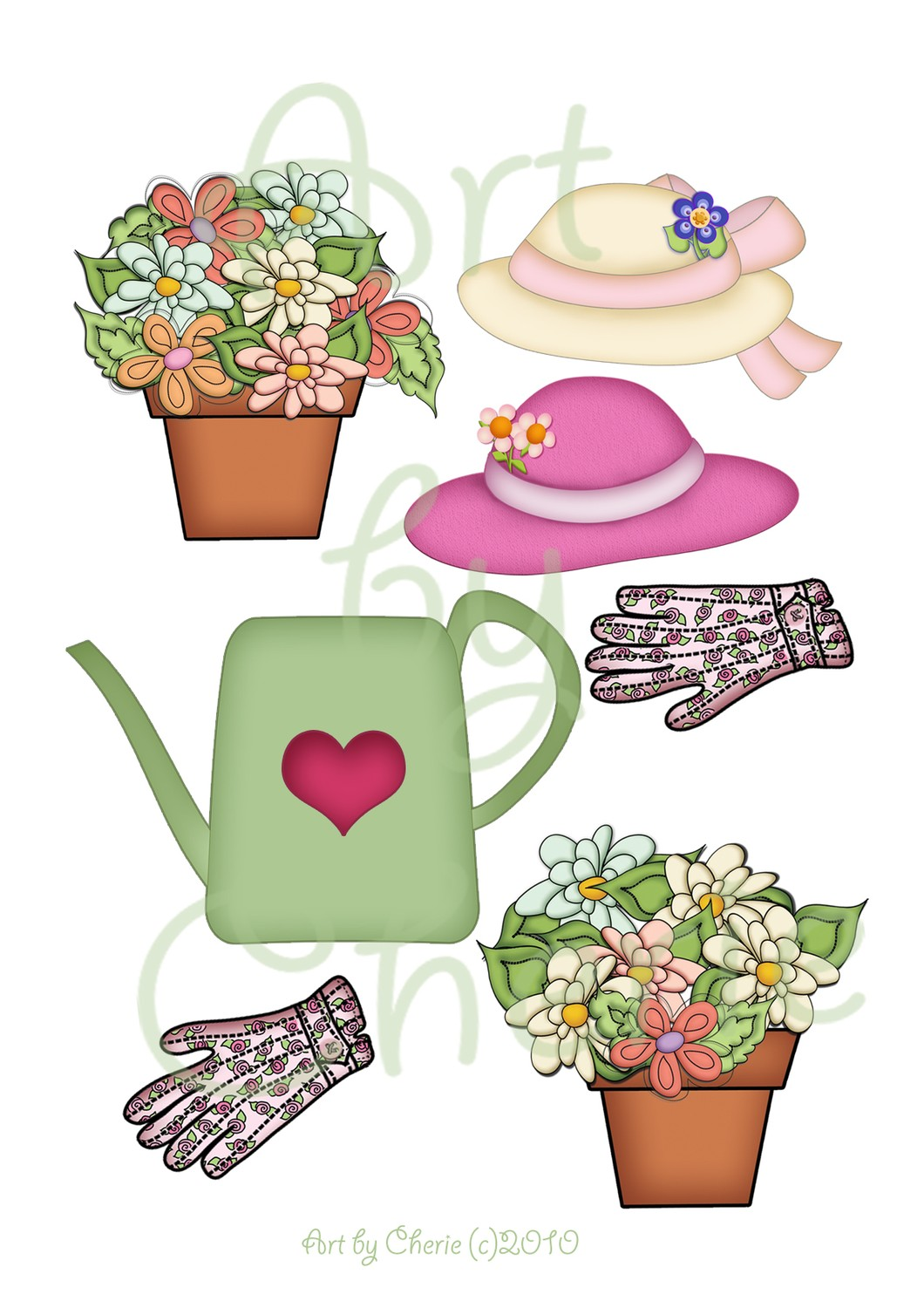 Watering Can clipart cute Item? Can Flowers Clipart Garden