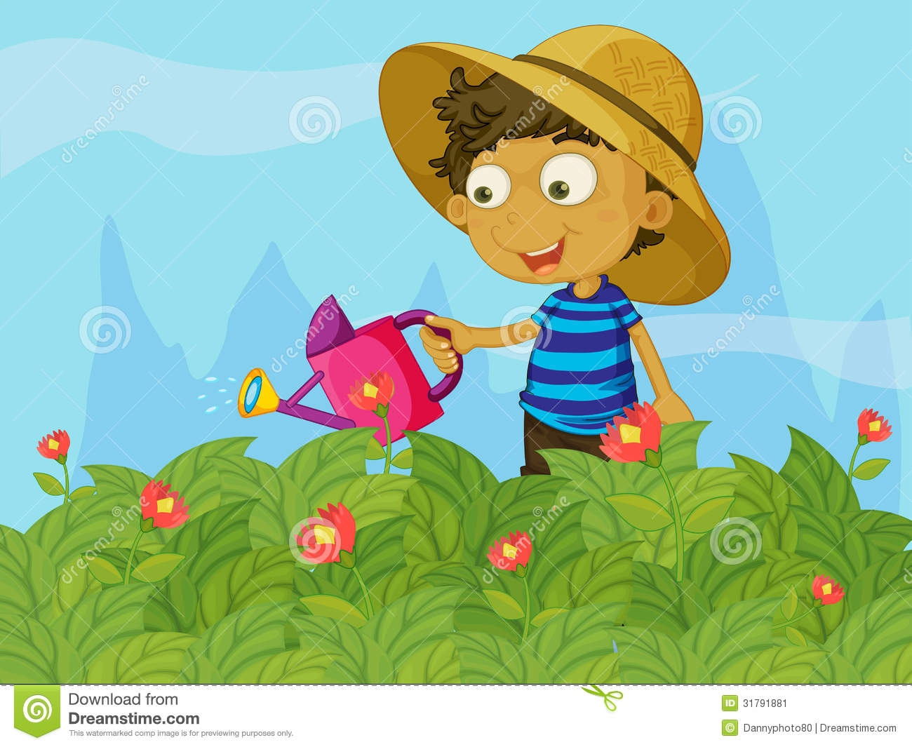 Watering Can clipart kid plant 2016 com Watering Clipart Clipart