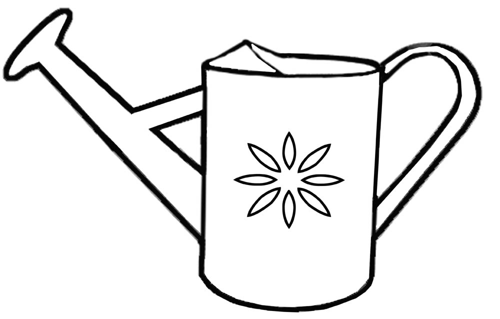Watering Can clipart spring ClipartIO Watering Clipart Clip Tool