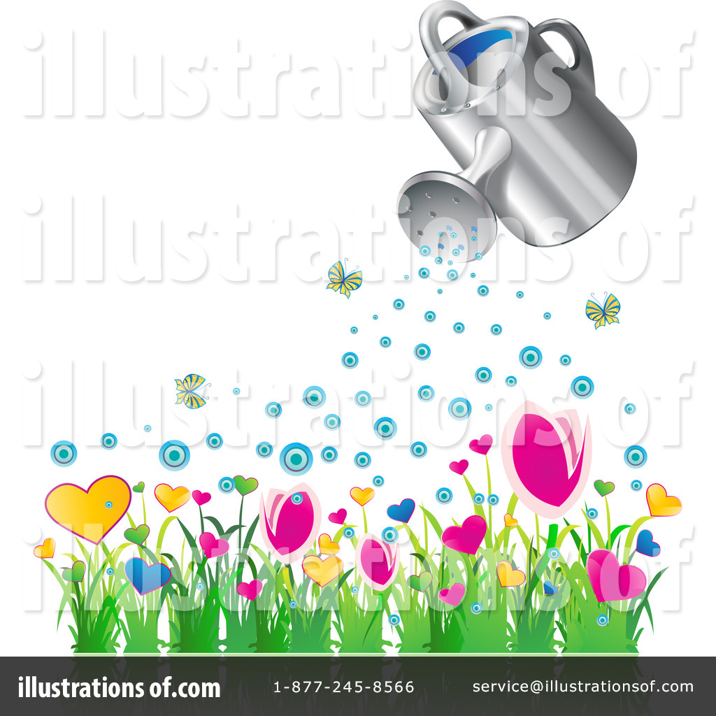 Watering Can clipart spring Can Illustration Clipart #1050879 MilsiArt