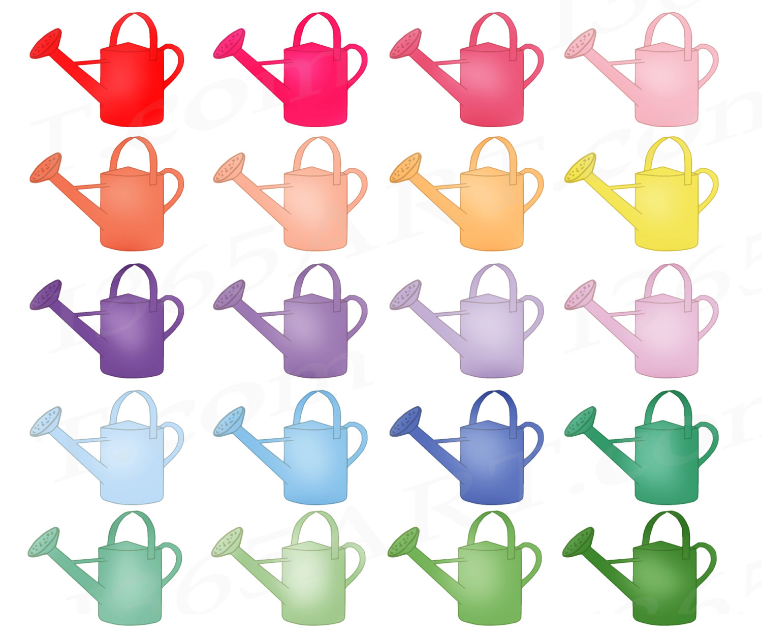 Watering Can clipart spring Clip Cans 50% Watering Clipart