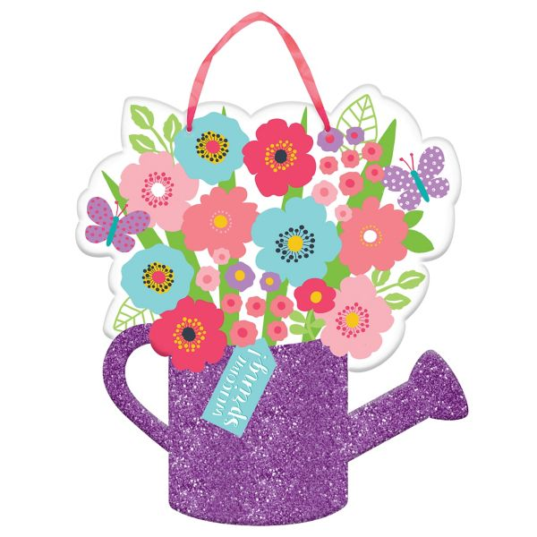 Watering Can clipart spring bouquet Glitter Watering Can Spring Watering