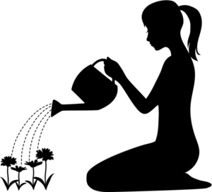 Watering Can clipart sprinkling Art Clipart sprinkler Watering white