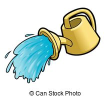 Watering Can clipart sprinkling Water Vector can Watering Man