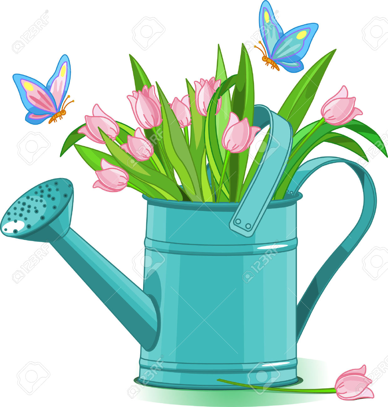 Watering Can clipart sprinkling Watering Can Clip Watering Can