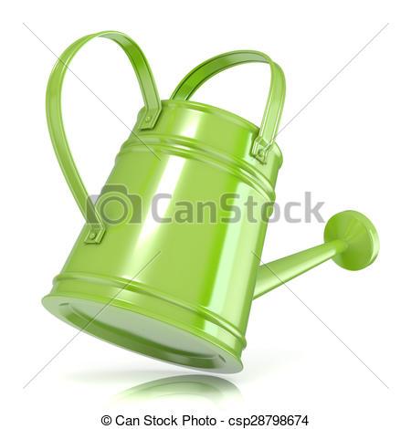 Watering Can clipart sprinkling  with Green sprinkler watering