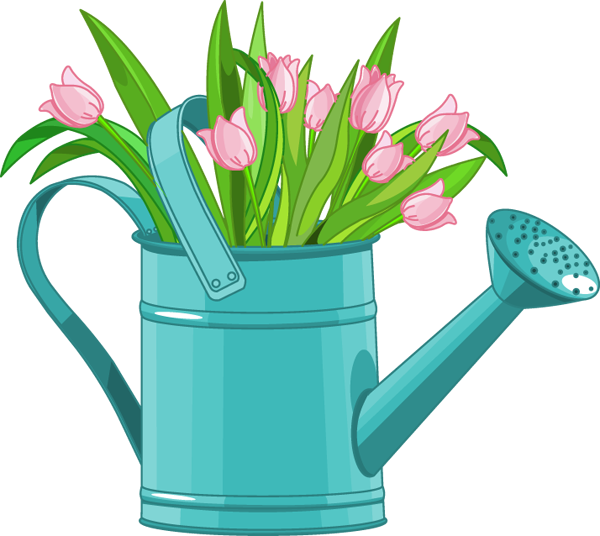 Watering Can clipart transparent Can watering Flowers Watering cliparts