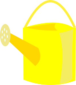 Watering Can clipart transparent Can Watering Yellow  Art
