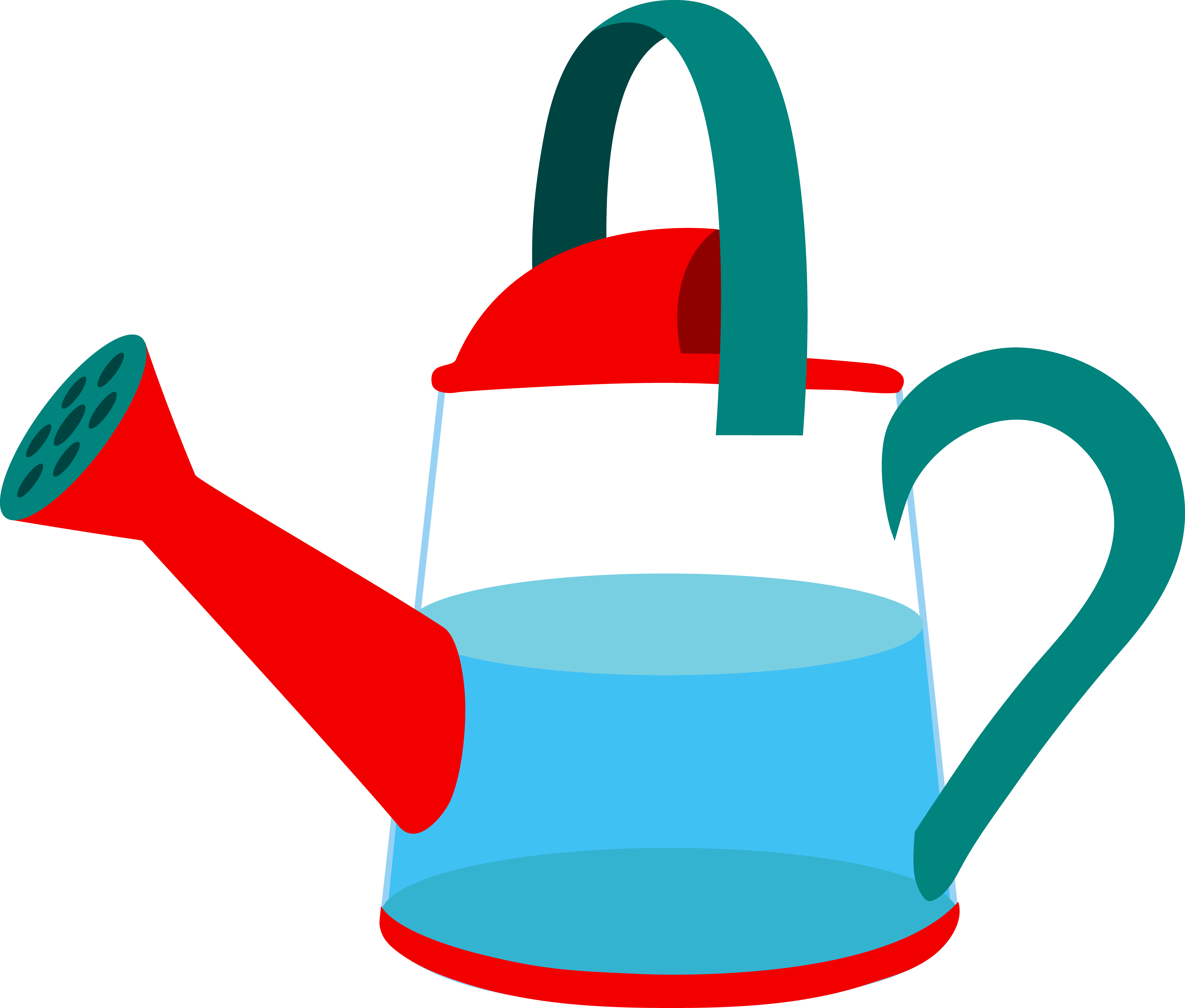 Watering Can clipart transparent Filled Can Watering Water Clip