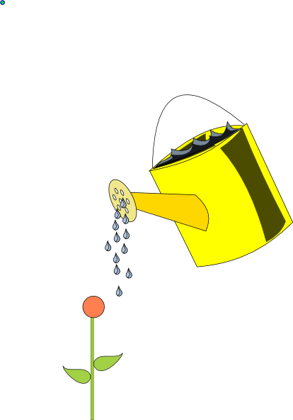 Watering Can clipart yellow Can vector Art Yellow clip